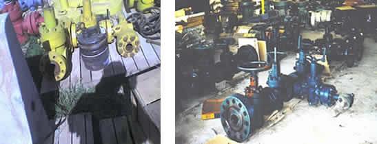 IMS Colombia Servicio de inspección y control de calidad de partes de cabezales de pozo
