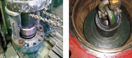 Instalación y prueba de los cabezales de pozo IMS Colombia